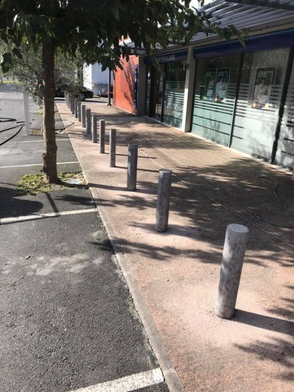 décapage mobilier urbain