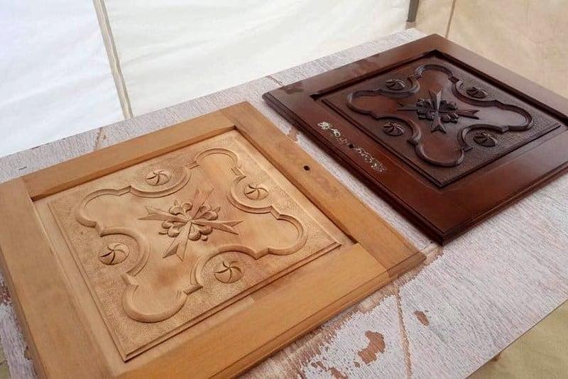 Des «avant / après» sur meubles en bois